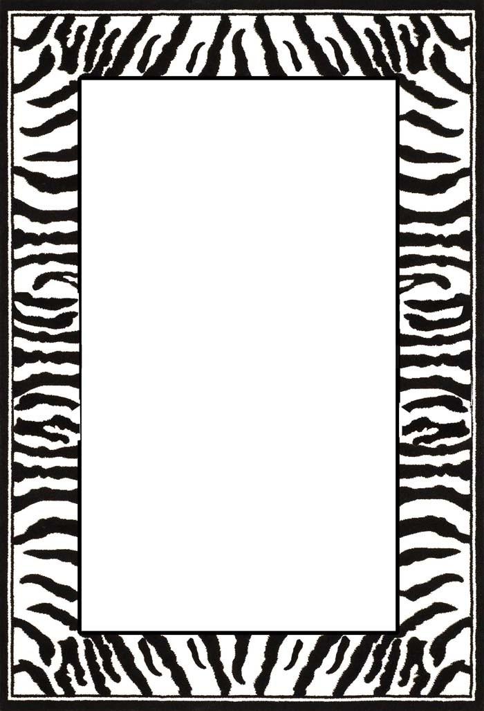 Cheetah Print Border Clipart - Clipart Kid