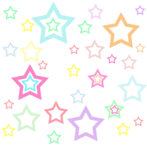 Backgrounds   Starry   Pastel Rainbow Star Background