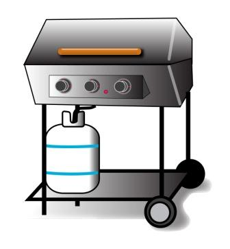 Bbq Pit Clipart A Barbeque Pit Or Improper