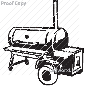 Bbqgrillfoodrestaurantoccupations Businesssmokerclipart