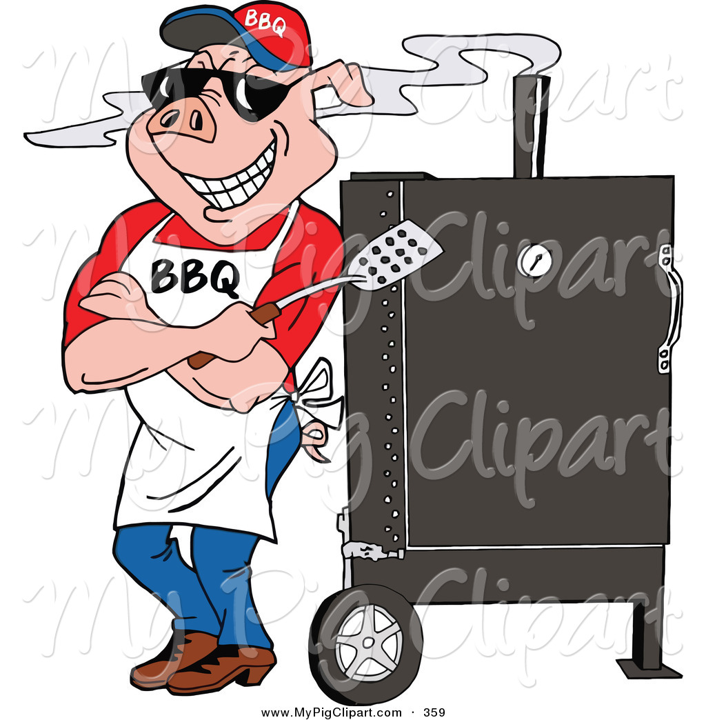 Gallery For   Smoker Grill Clip Art