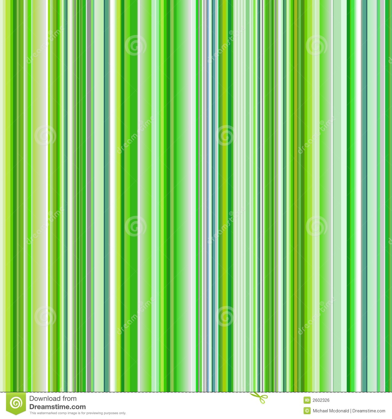 Green Striped Abstract Background Variable Width Stripes