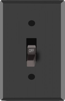 Light Switch Off Clip Art Free Vector In Open Office Drawing Svg