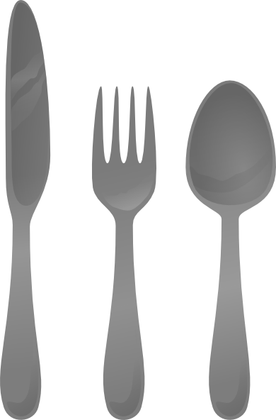 Moself Cutlery Clip Art Hight   Free Images At Clker Com   Vector Clip