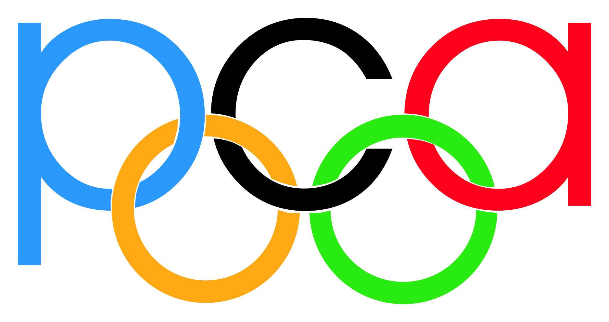 Olympic Rings Image   Clipart Best