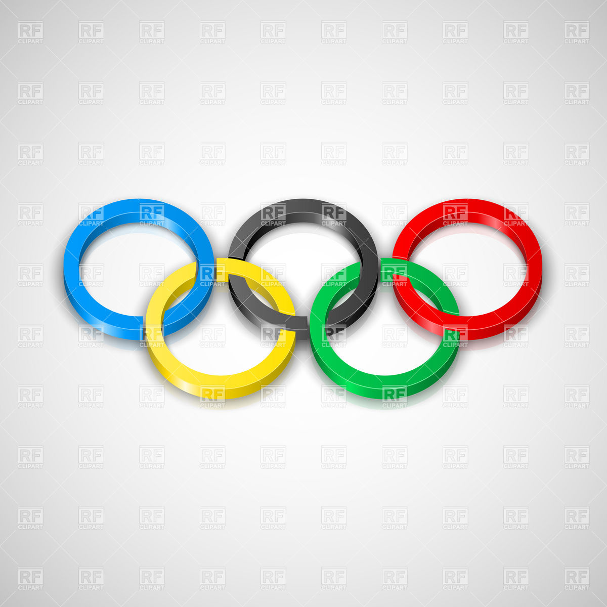 Olympic Rings   Symbol Of Olympic Games 16176 Download Royalty Free