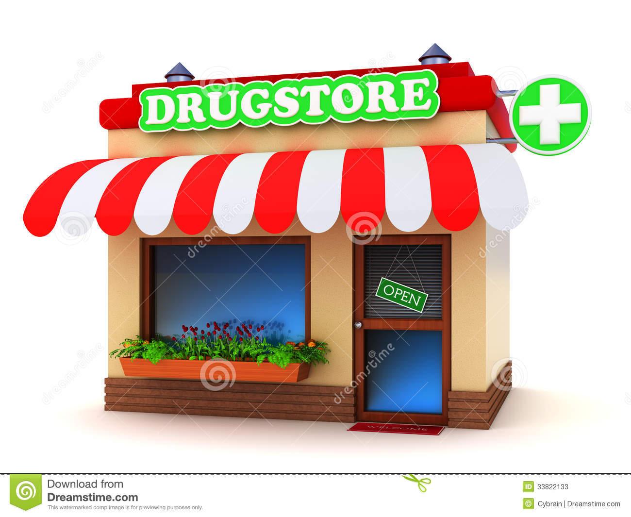 Pharmacy Store Clip Art