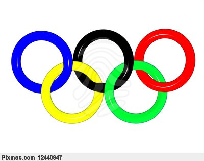 Pixmac Com3d The Image Of Olympic Rings