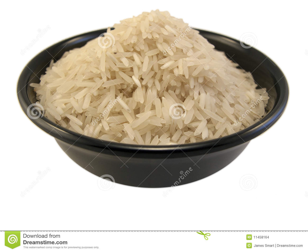 Rice Clip Art Bowl Of Rice Shot In A White