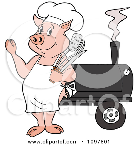 Royalty Free  Rf  Bbq Clipart Illustrations Vector Graphics  1