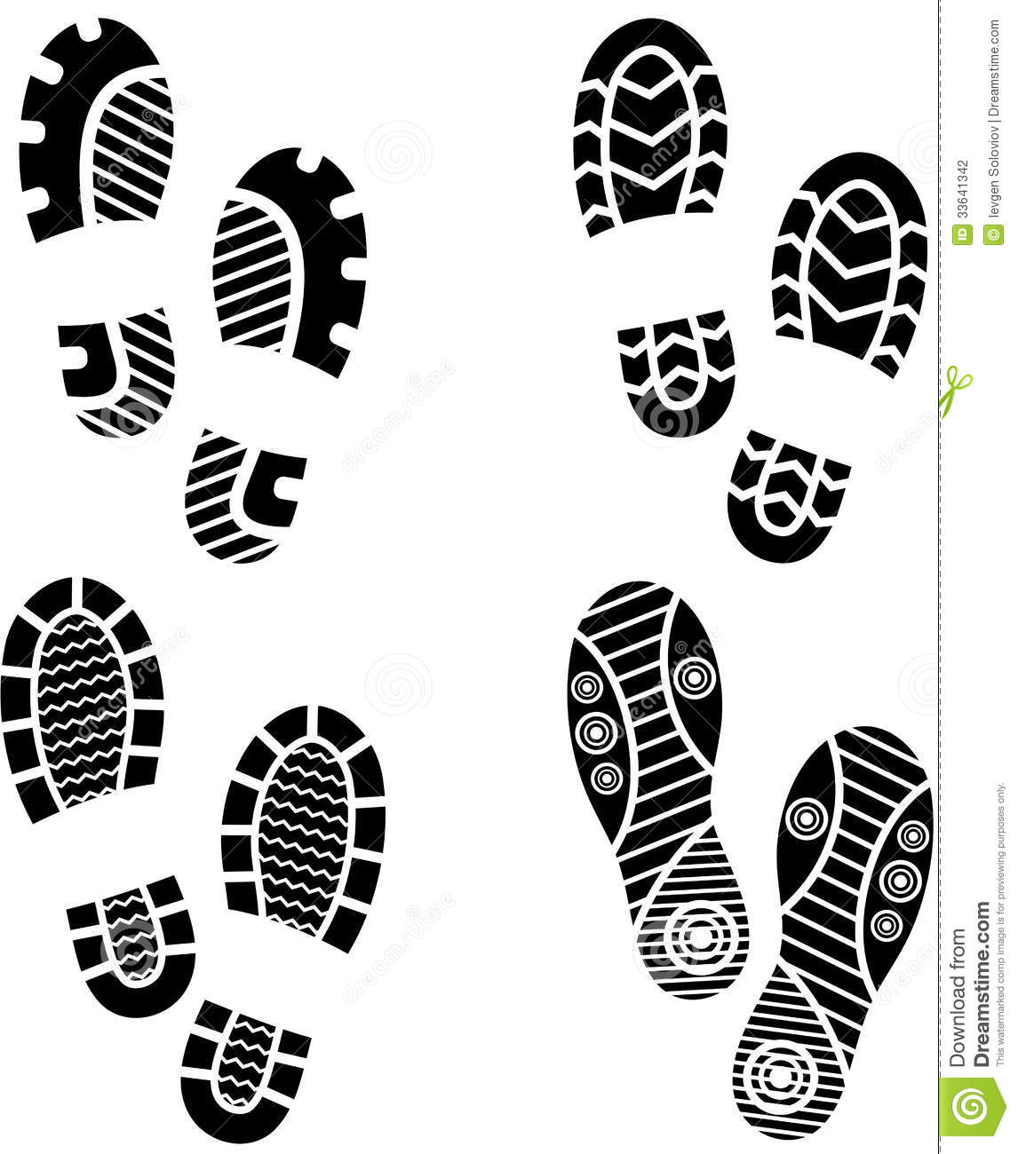 sneaker print clipart clipart suggest