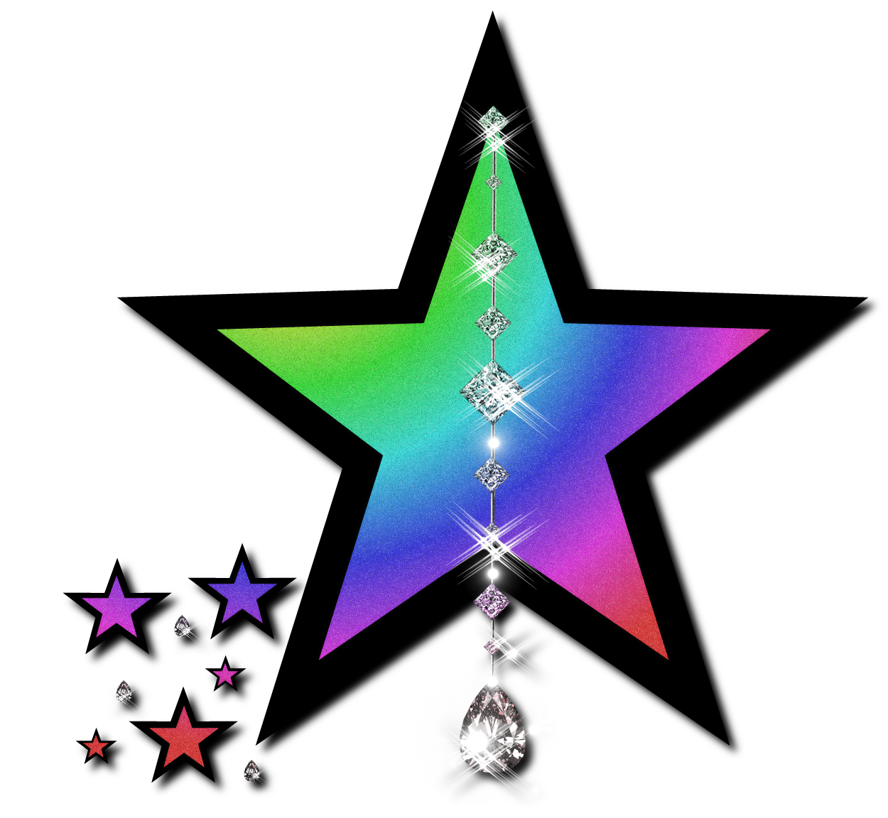 Silver Glitter Star Clipart   Clipart Panda   Free Clipart Images