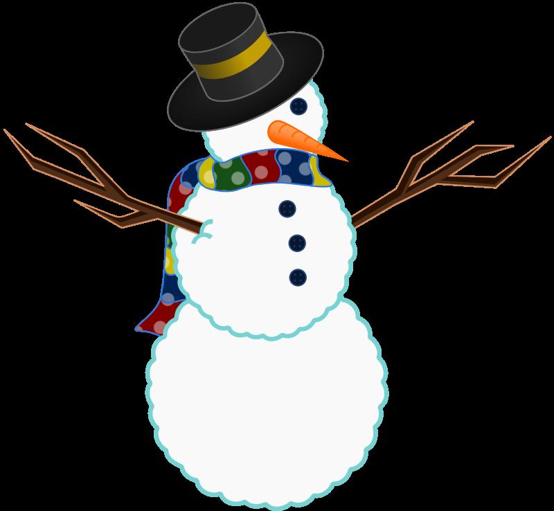 Snowman Transparent Background Clipart - Clipart Kid
