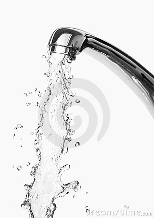 Tap Of Running Water Royalty Free Stock Photos   Image  11256288