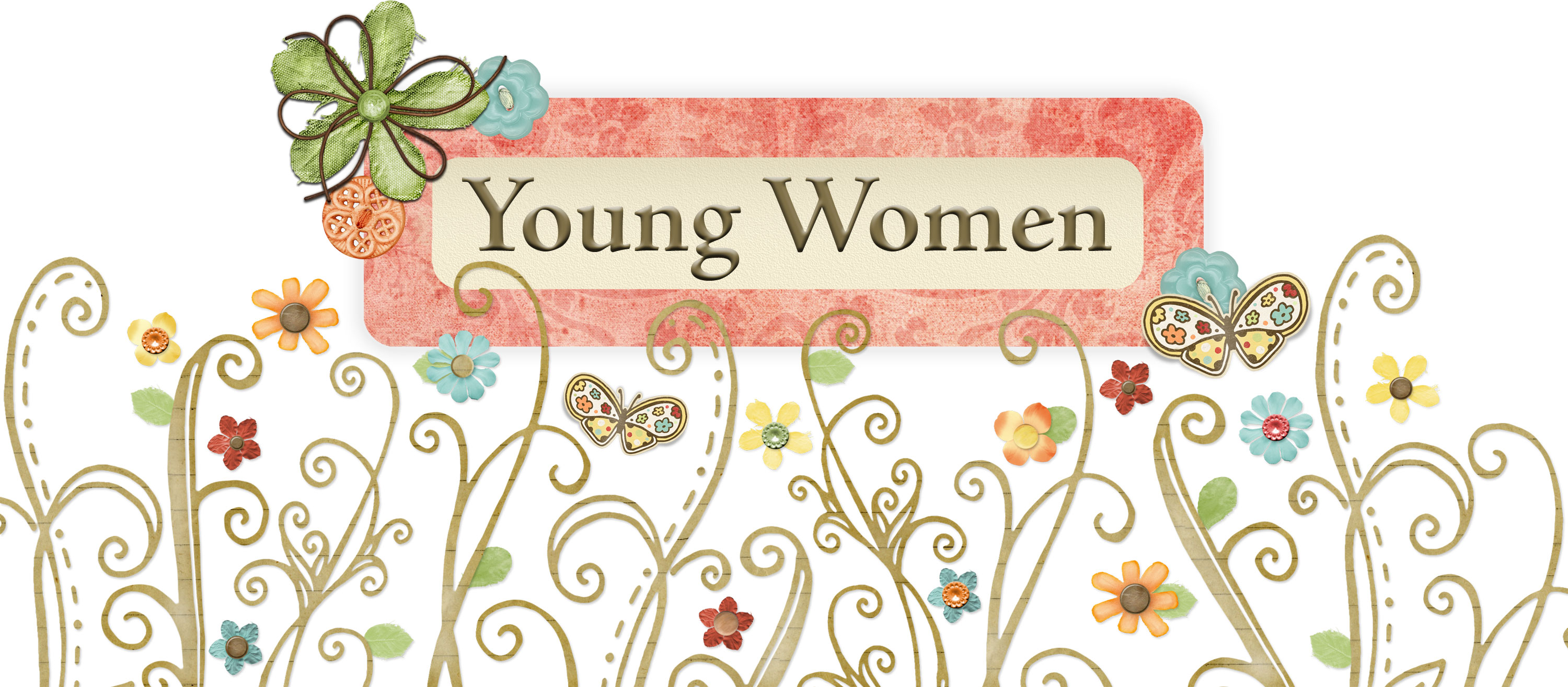 Young Women Class Names And Symbols Young Women Theme