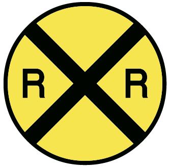 Art   Road Signs Clip Art Images   Graphics   Railroad Crossing Png