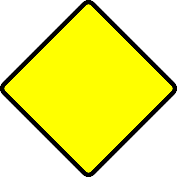 Blank Road Sign Clip Art At Clker Com   Vector Clip Art Online