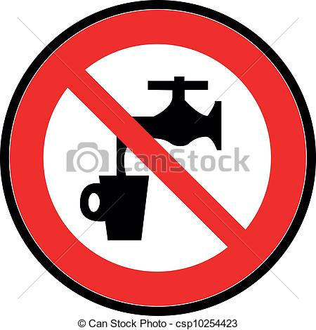 Do Not Unplug Clip Art Http   Www Canstockphoto Com Do Not Drink The