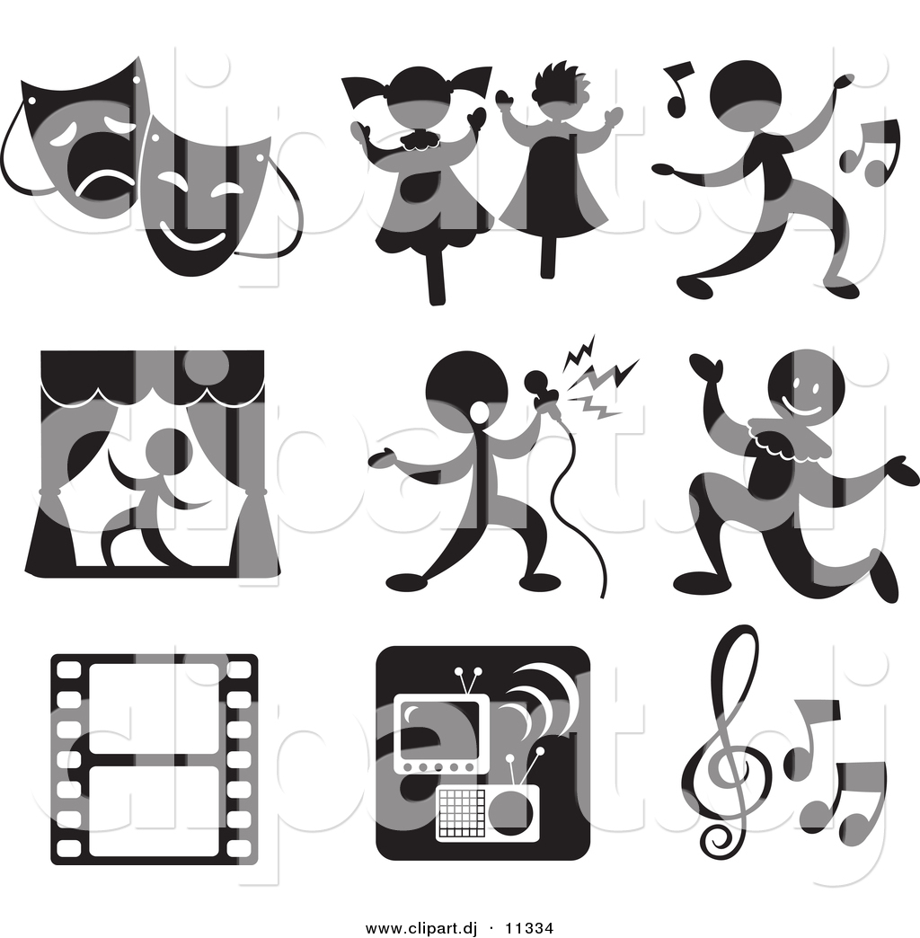 Entertainment Clip Art