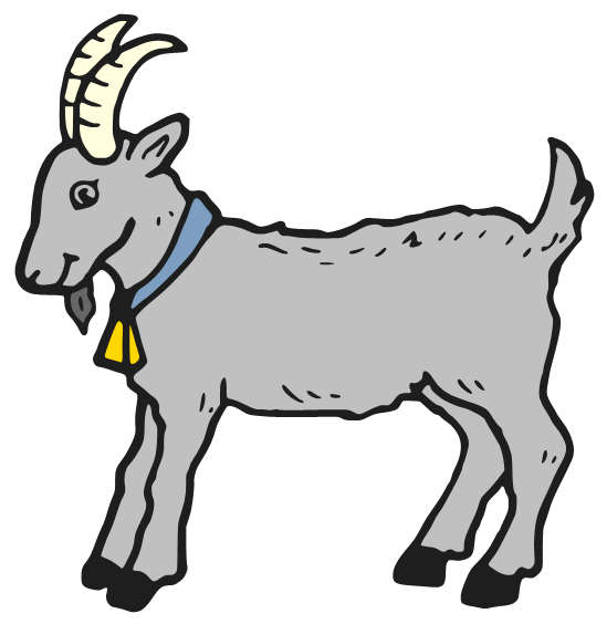 Cartoon Goats Clipart - Clipart Suggest