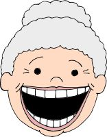 Clip Art Old Lady Clip Art old lady face clipart kid know an library pinterest