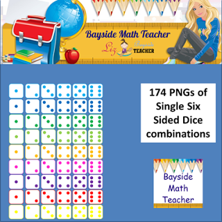 Math Teacher   New Single And Double Dice Clipart   570 Pngs   20  Off
