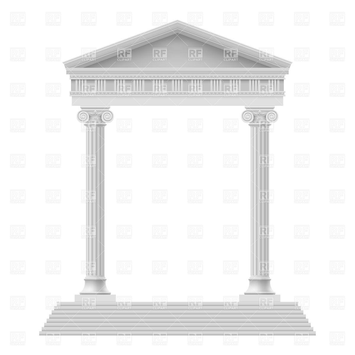 Roman Pillars Clipart - Clipart Kid