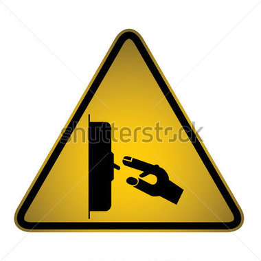 Switch Off Sign  Vector