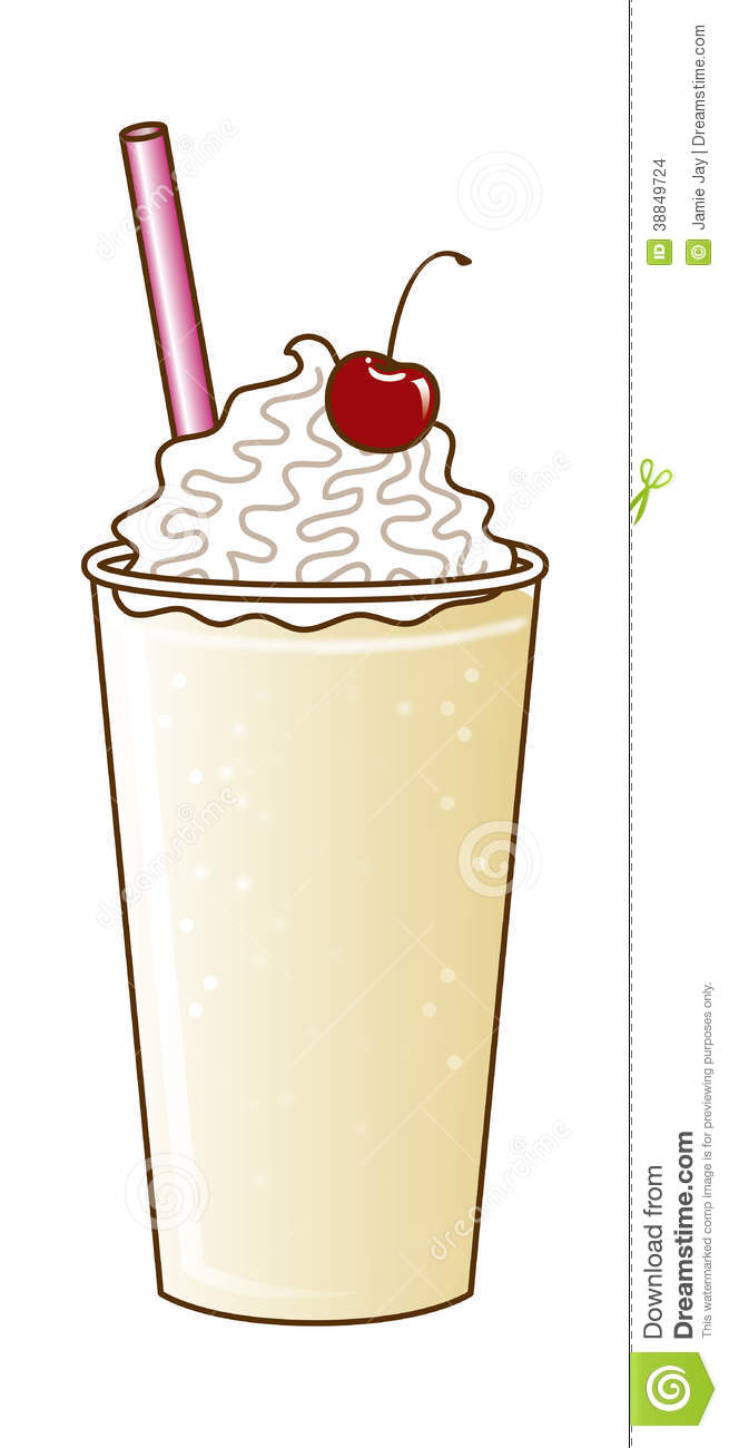 176 Vanilla Milkshake Cliparts, Stock Vector And Royalty ...