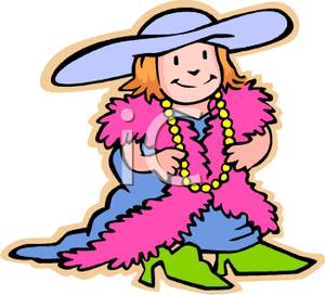 Wacky Clothes Day Clipart