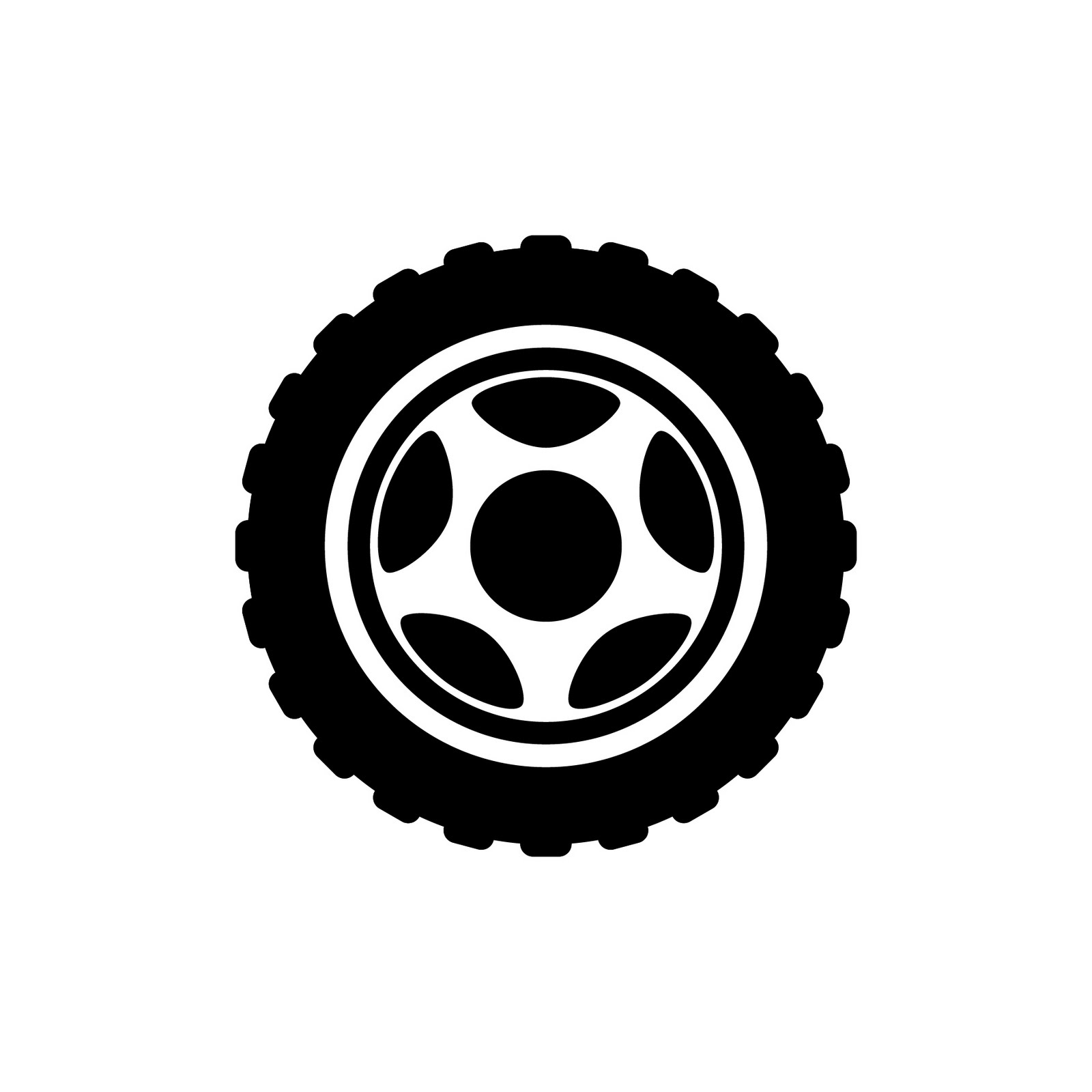 Flat bike tire clipart clipart suggest for Bike tire art