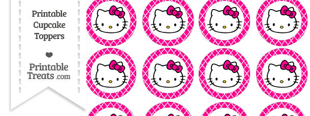 Filed Under  Cupcake Toppers  Party Printables Tagged With  Hello