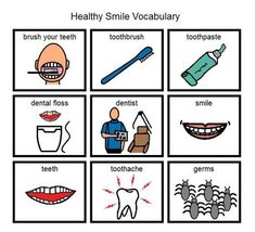 Healthy Smile Picture Vocabulary More