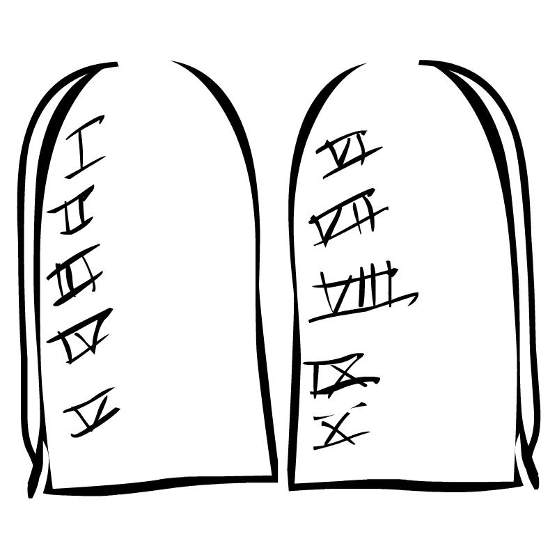 Ten Commandments Clipart - Clipart Suggest | 800 x 800 jpeg 133kB