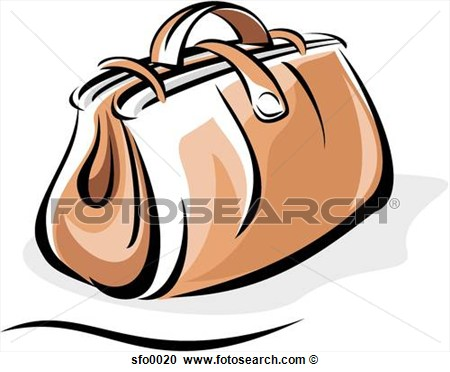 Stock Illustration   Carry On Bag  Fotosearch   Search Clipart