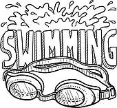 Swimming Goggles Illustrations And Clipart  222 Swimming Goggles