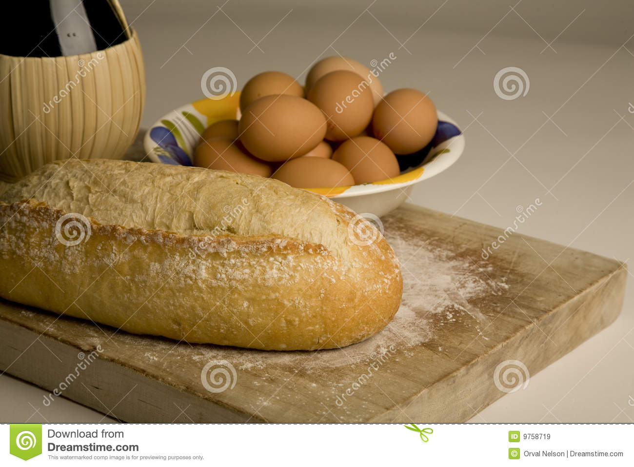 Artisan Bread On Cutting Board  Royalty Free Stock Images   Image