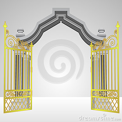 Back   Pix For   Heavenly Gates Clipart