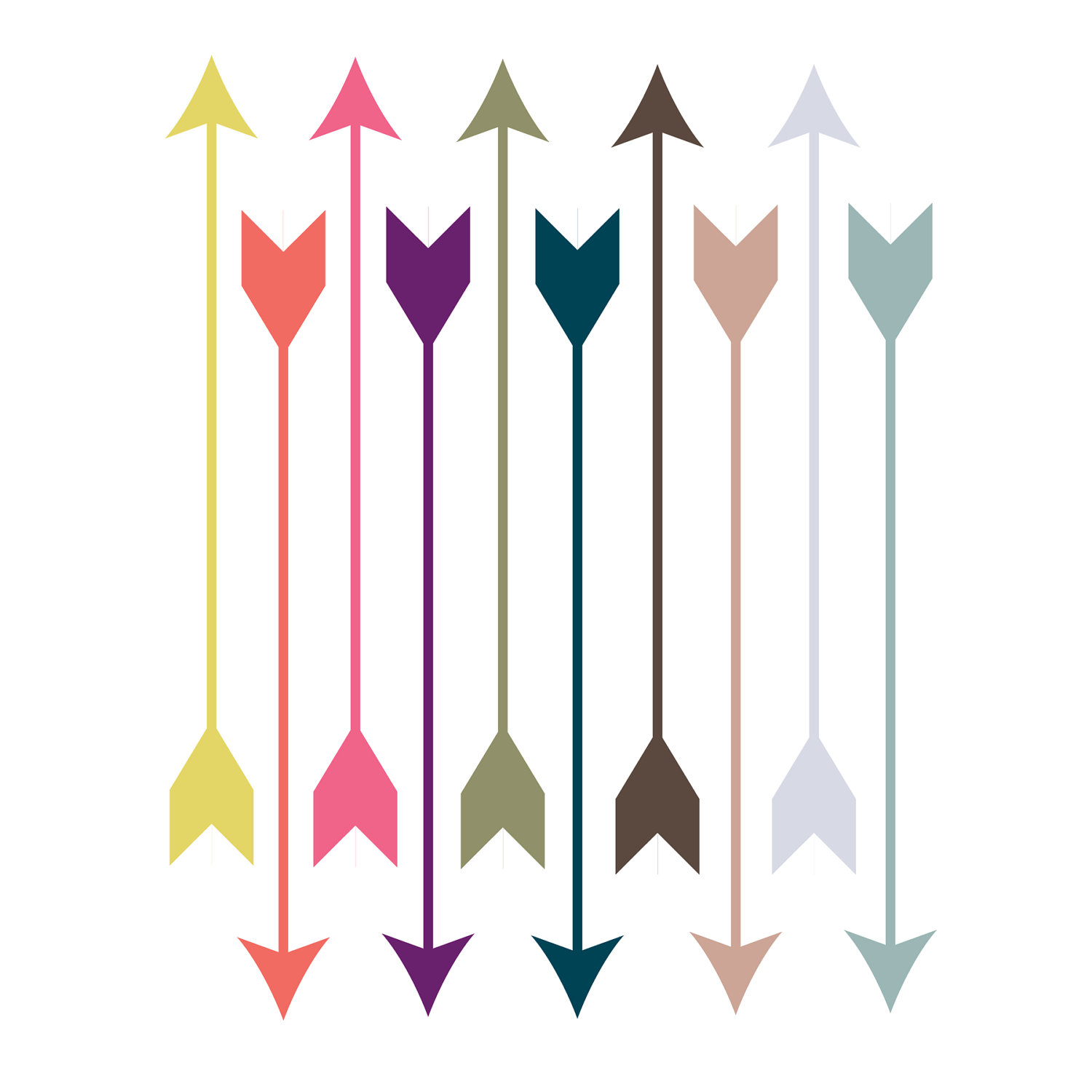 Bow And Arrow Clip Art Clip Art    Pantone Arrows