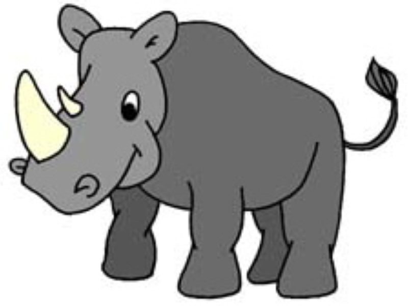 Cartoon Rhino   Clipart Best