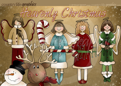 Christmas Graphics Winter Clipart At Country Life Graphics   Heavenly