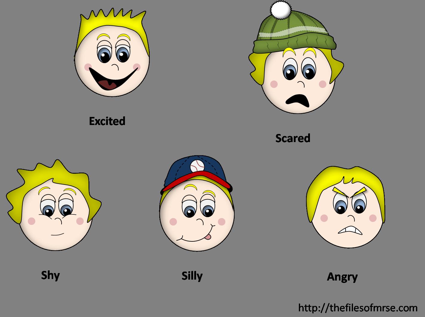 Feelings Clipart - Clipart Kid