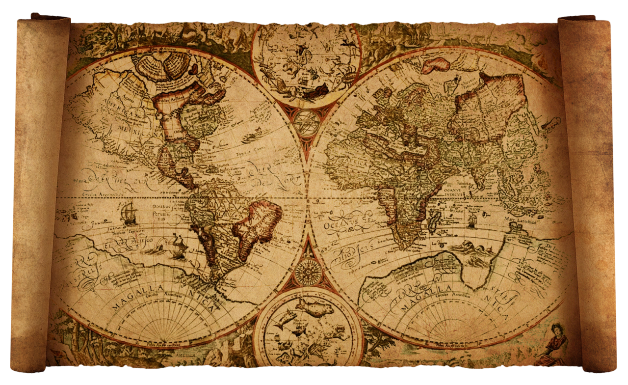 Old World Map Clipart - Clipart Kid