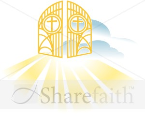 Heavenly Gates   New Testament Clipart
