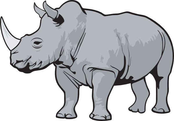 Outline Pictures Rhino   Free Cliparts That You Can Download To You