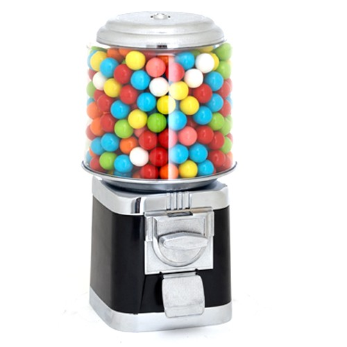 Rhino Classic Gumball Machine In Black