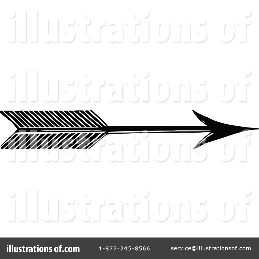 Royalty Free  Rf  Arrow Clipart Illustration By Prawny Vintage   Stock