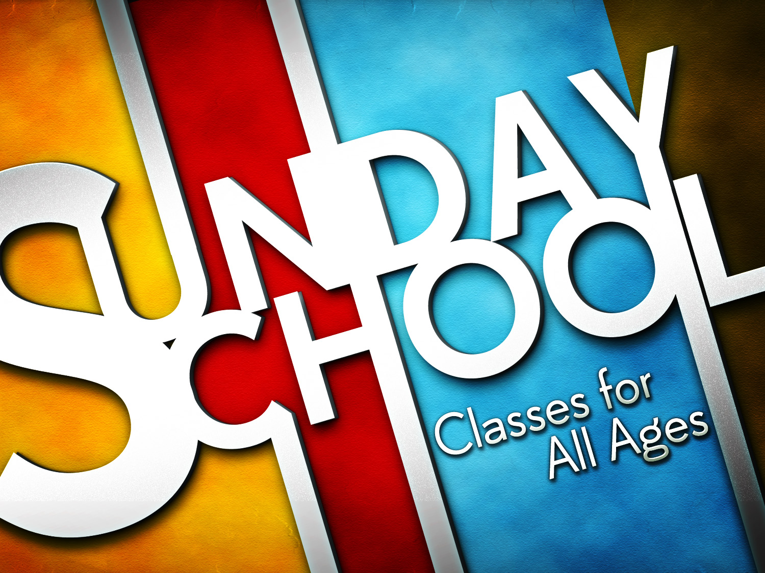 Several Sunday School Classes All Classes Start At 9am Every Sunday