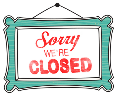 We Are Closed Clipart - Clipart Suggest