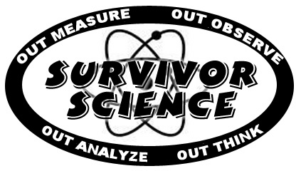 Survivor Science Graphic   Use To Create Your Own Room Signs And Other